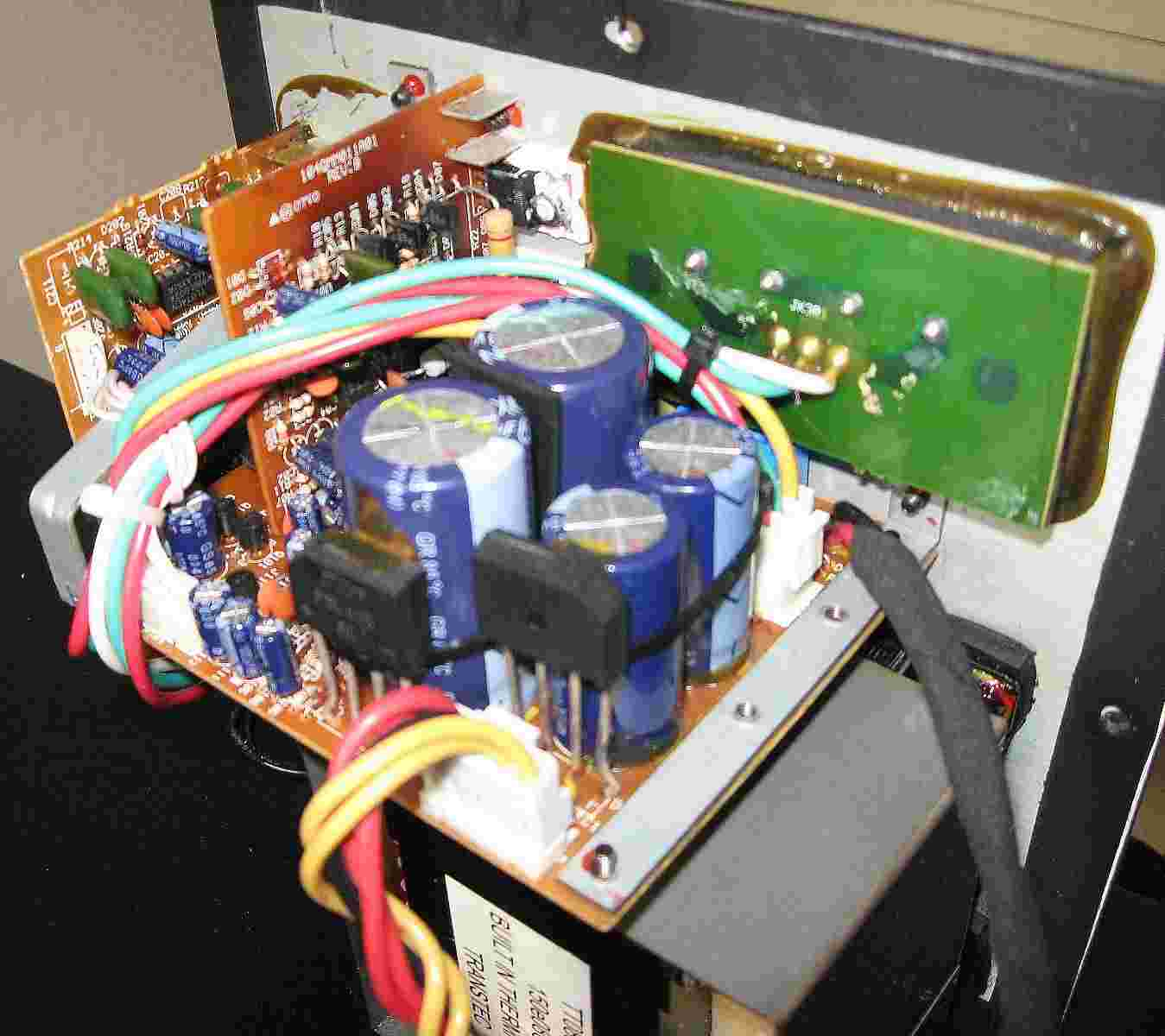 Bash Amplifier Repair