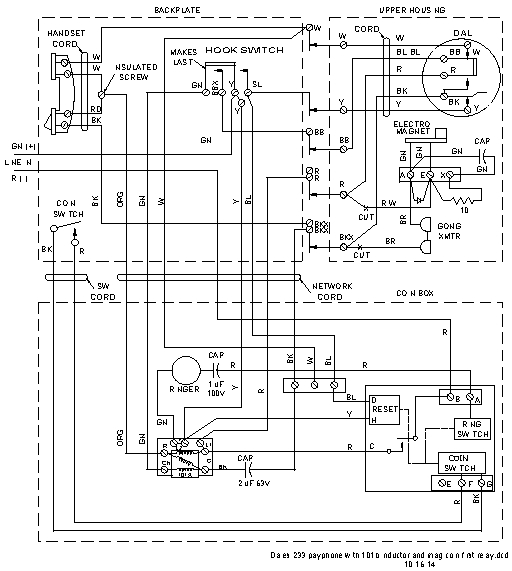 Western Electric Payphone Wiring Diagram - Wiring Diagram Bookmark on