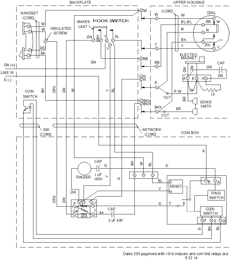 payphone_schematic 751x848 wiring diagram 233g diagram wiring diagrams for diy car repairs Transducer Wiring-Diagram at mr168.co