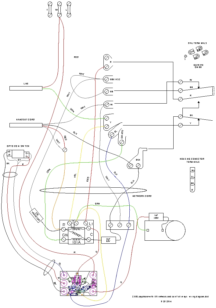 coin first payphone controller wiring diagram of phone opto switch